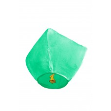 Dangaus žibintas, žalias
