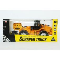 SCRAPER buldozeris valdomas R/C