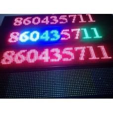 LED programuojama reklaminė lenta LED įvairiaspavė