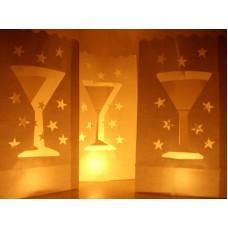"""Žvakių maišeliai """"Martini"""", 10 vnt."""